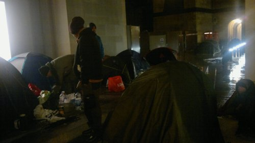 19 May early hours before the Eviction